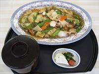 パリパリ揚げ麺